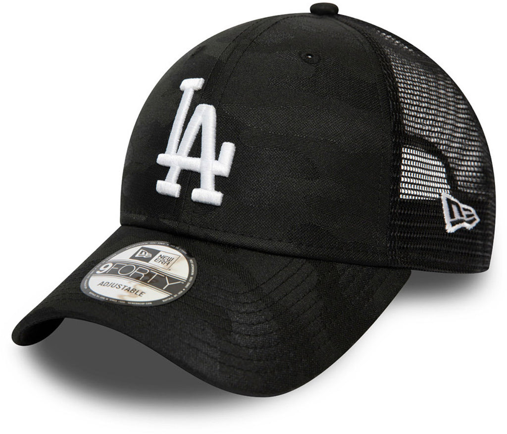 LA Dodgers New Era 940 Seasonal League Black Baseball Cap