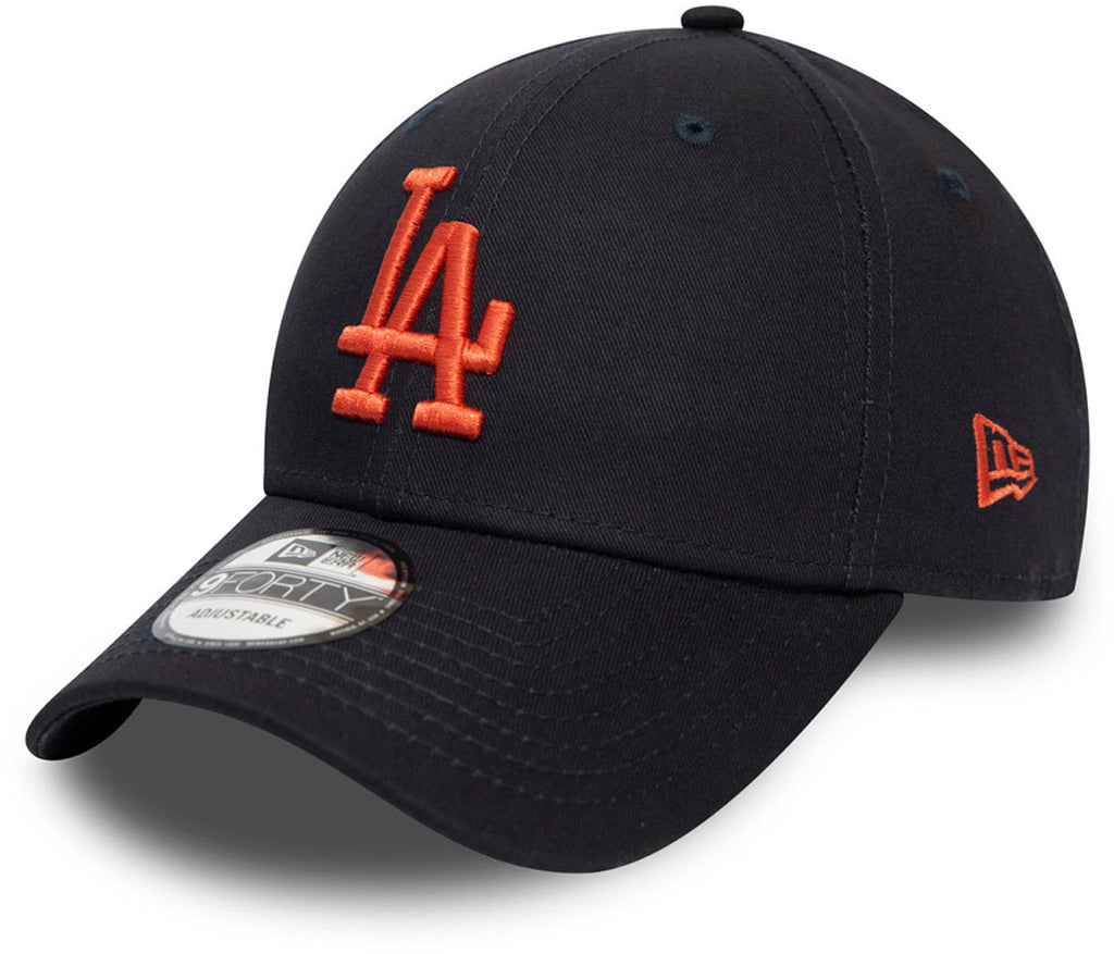 LA Dodgers New Era 940 League Essential Navy Baseball Cap