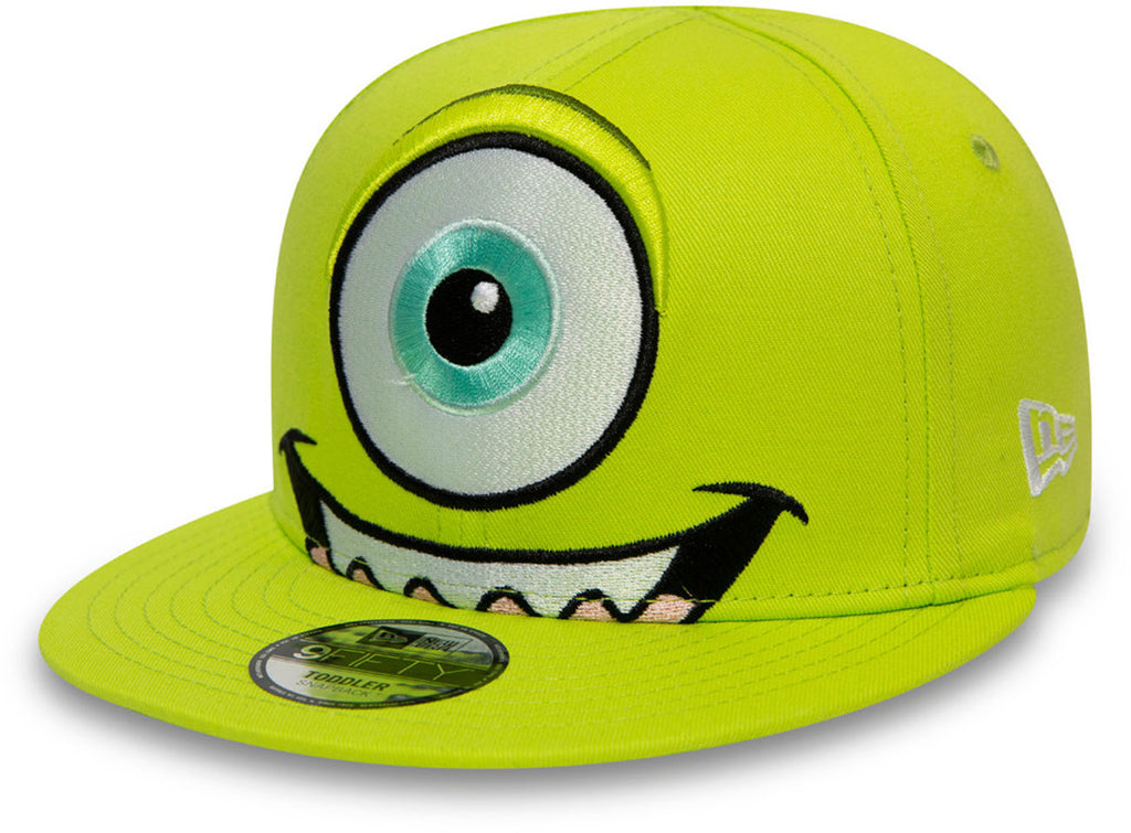 Monsters Inc. New Era 950 Kids Green Snapback Cap (Age 4 - 10 years)