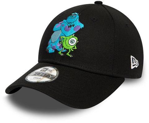 Monsters Inc. Kids New Era 940 Disney Character Face Cap (Ages 4 - 10 years)