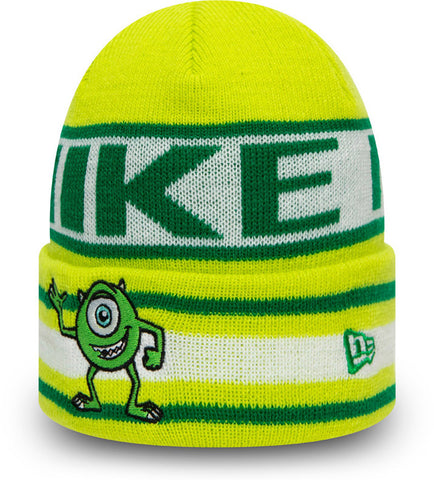 Monsters Inc. Mike New Era Kids Disneys Character Knit Beanie (Age 4 - 10 Years)