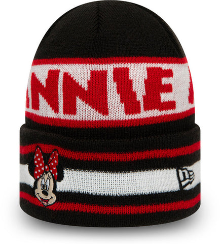 Minnie Mouse New Era Kids Disney Character Knit Beanie (Age 4 - 10 Years)