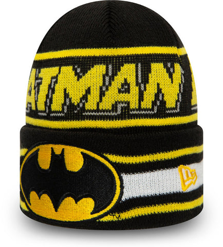 Batman New Era Kids DC Comics Character Knit Beanie (Age 4 - 10 Years)