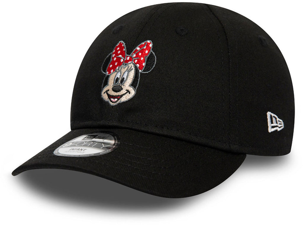 Minnie Mouse Infants New Era 940 Disney Character Face Cap (Ages 0 - 2 years)