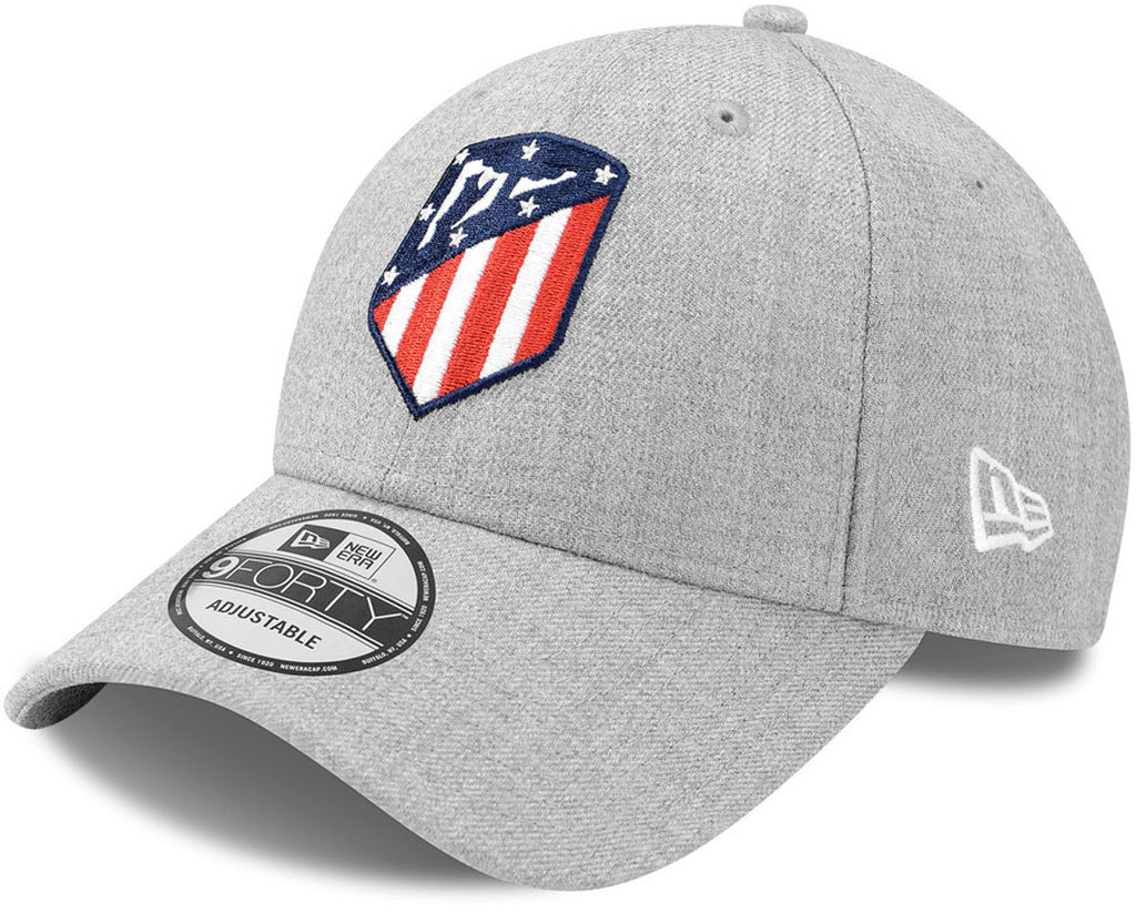 Athletico Madrid New Era 940 Heather Grey Cap