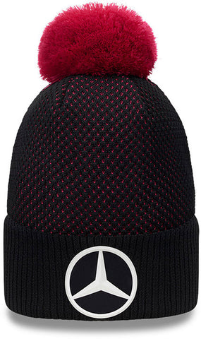 Mercedes AMG Petronas New Era Engineered Knit Bobble Hat