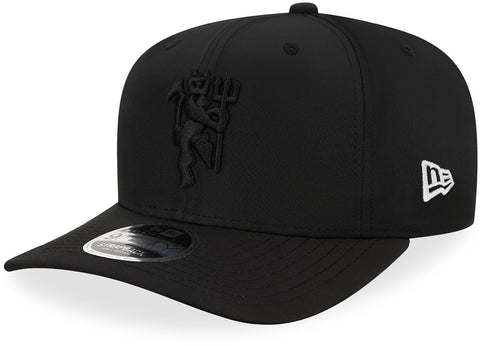 Manchester United New Era 950 Wordmark Black Stretch Snapback Cap