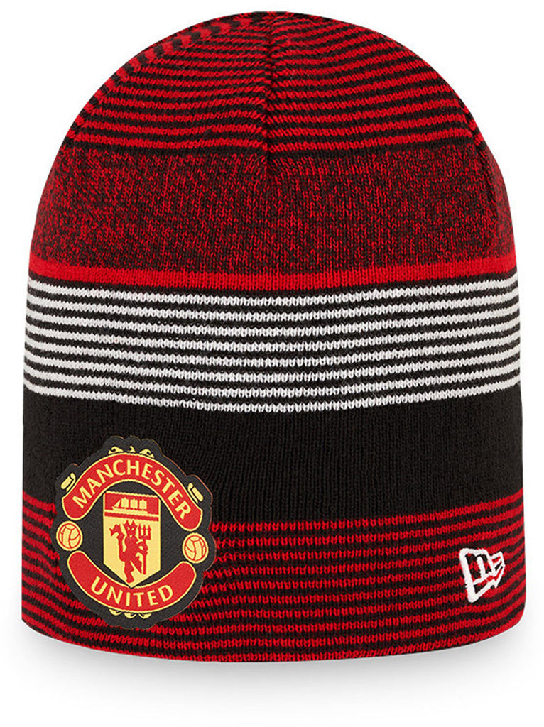 Manchester United New Era Reversible Skull Knit Beanie