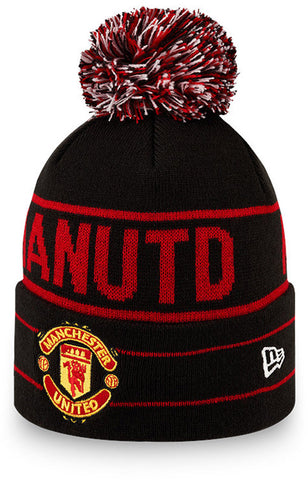 Manchester United New Era Jake Knit Bobble Hat