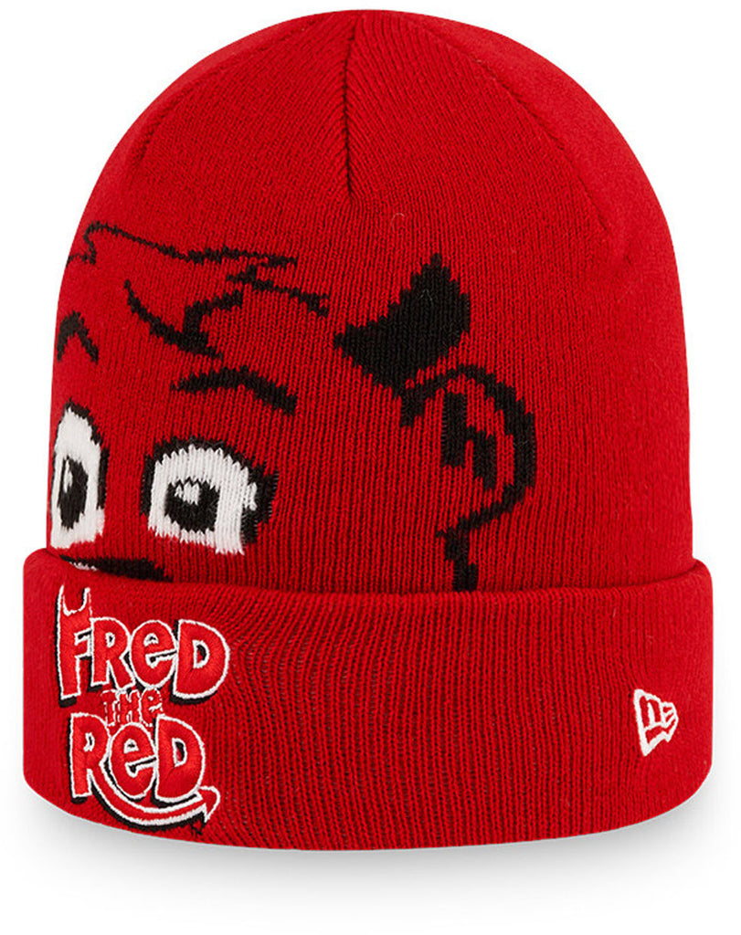 Fred The Red Infants New Era Manchester United Beanie (Ages 0 - 2 years)