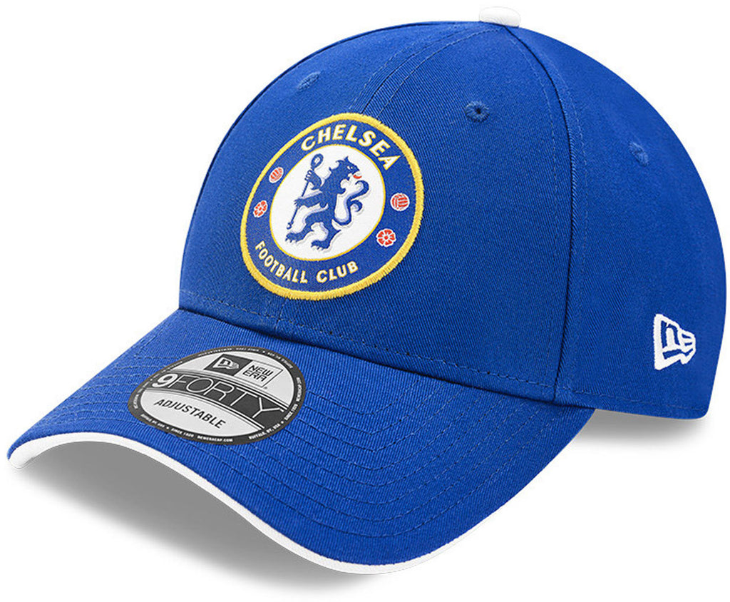 Chelsea FC New Era 940 Basic Logo Blue Team Cap
