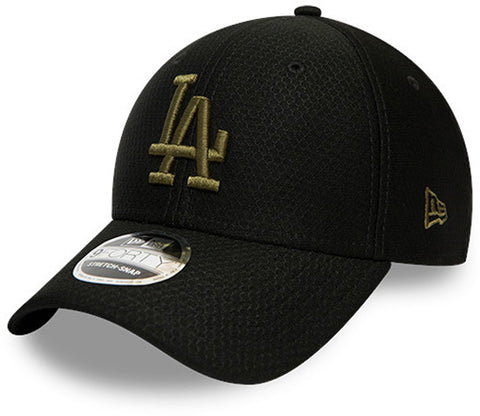 LA Dodgers Kids New Era 940 Black Snapback Baseball Cap (Ages 4 - 10 years)