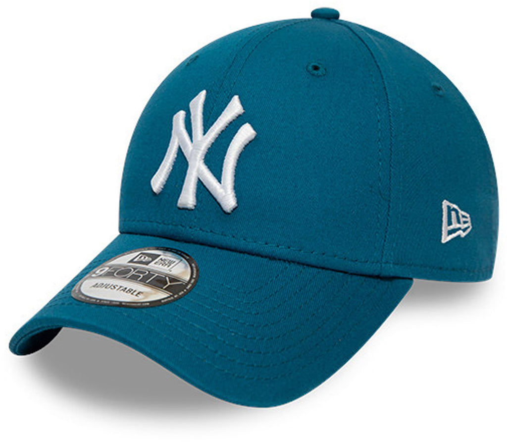 NY Yankees New Era Kids 940 League Essential Blue Cap (Ages 4 - 10 years)