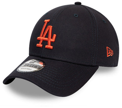 LA Dodgers New Era Kids 940 League Essential Navy Cap (Ages 4 - 10 years)