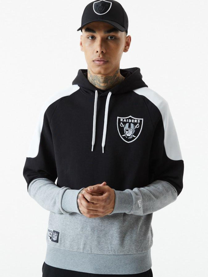 Las Vegas Raiders New Era NFL Contrast Panel PO Hoody