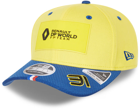 Renault F1 New Era 950 Team Driver Esteban Ocon Snapback Cap - pumpheadgear, baseball caps