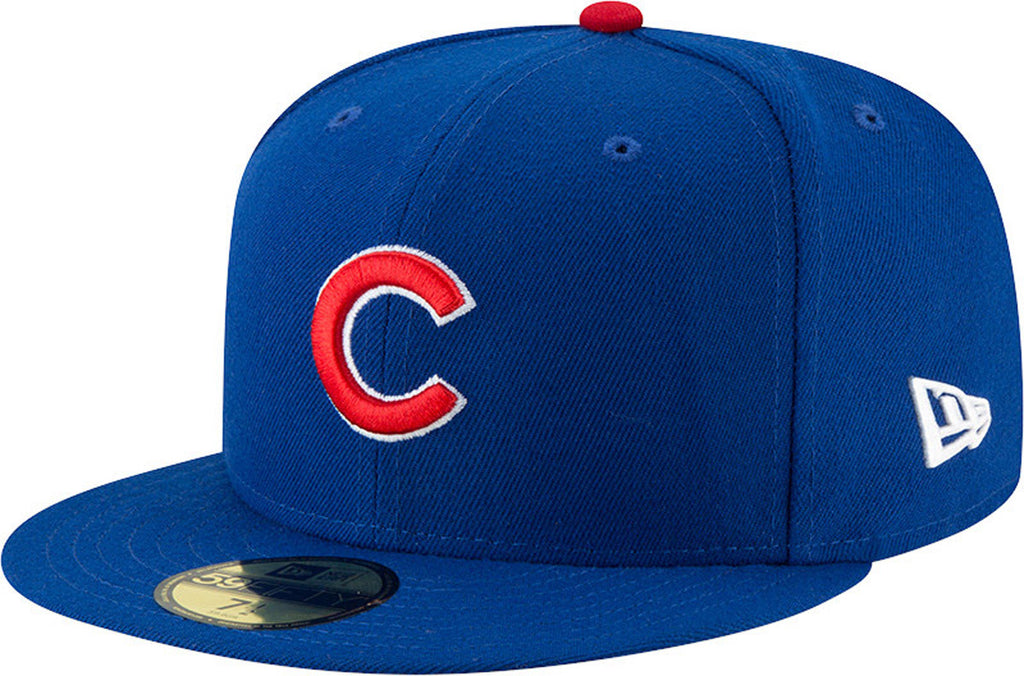 Chicago Cubs New Era 5950 AC Performance Team Baseball Cap