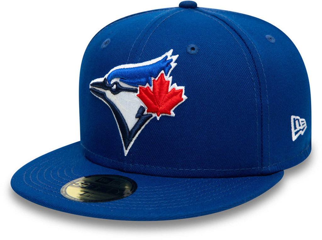 Toronto Blue Jays New Era 5950 AC Performance Team Baseball Cap