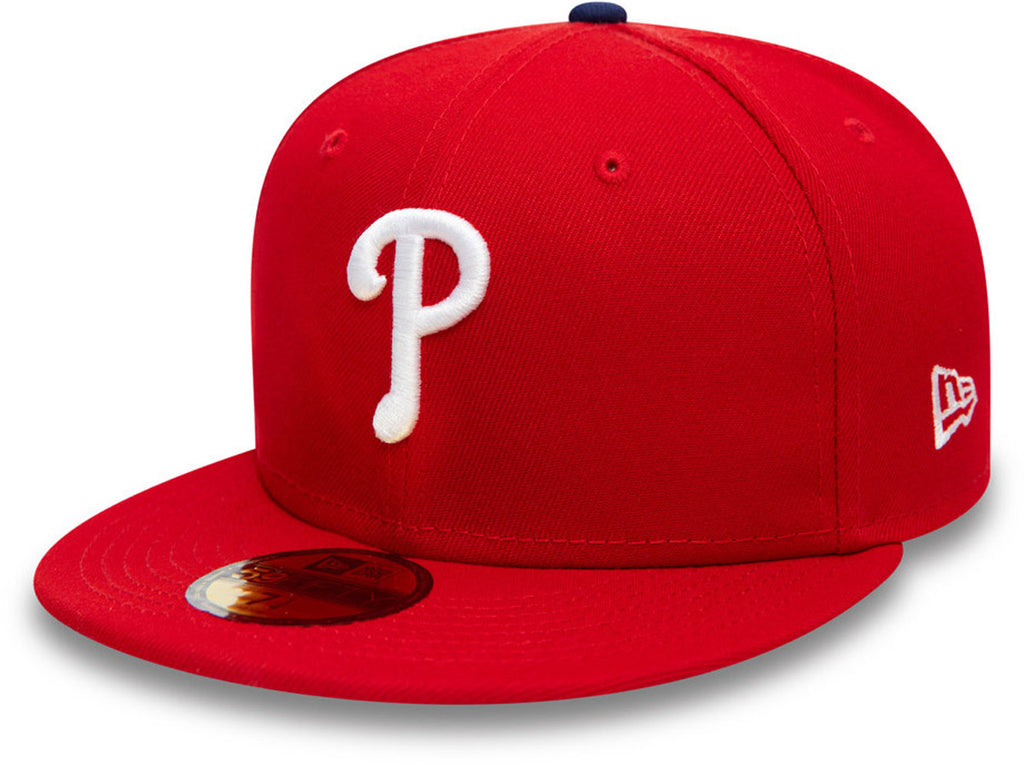 Philadelphia Phillies New Era 5950 AC Performance Team Baseball Cap