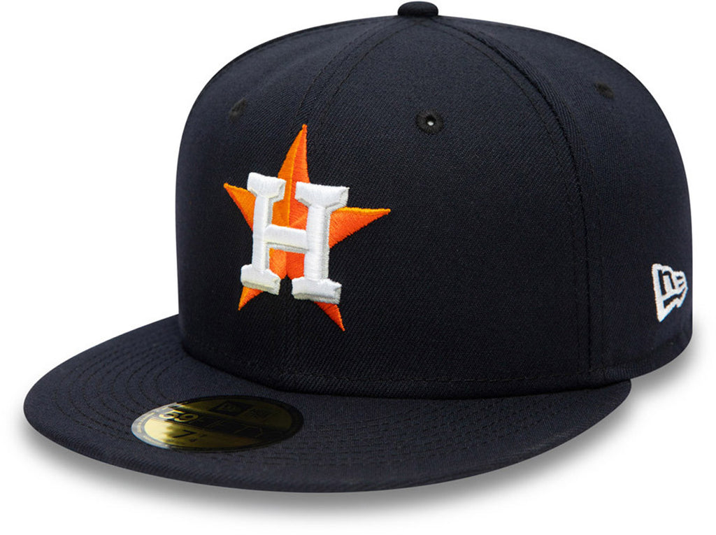 Houston Astros New Era 5950 AC Performance Team Baseball Cap