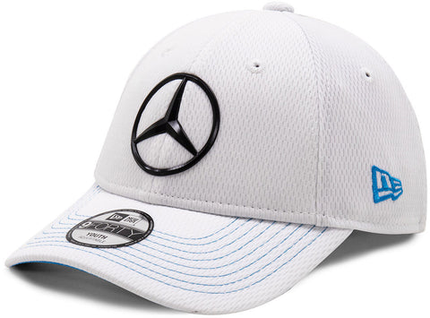 Mercedes EQ New Era 940 Kids White Team Cap (Age 6 - 12 Years)