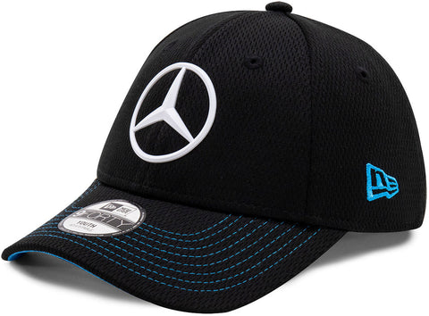 Mercedes EQ New Era 940 Kids Black Team Cap (Age 6 - 12 Years)
