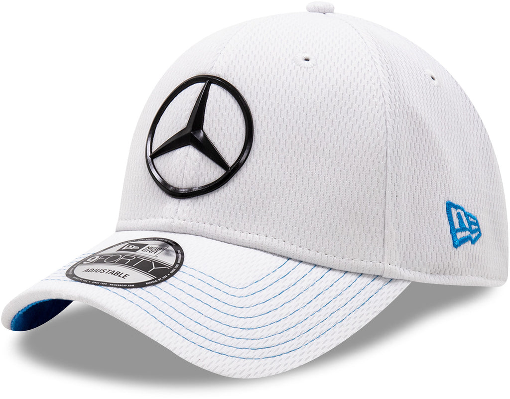 Mercedes EQ New Era 940 White Team Cap