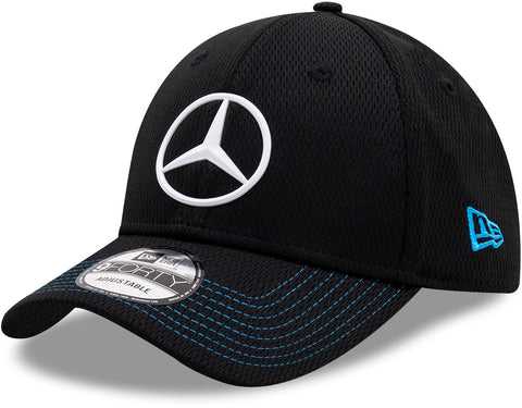 Mercedes EQ New Era 940 Black Team Cap