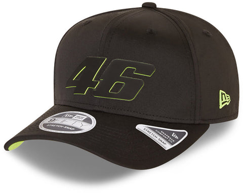 Valentino Rossi Era 950 VR46 FW Poly Stretch Snap Black Cap
