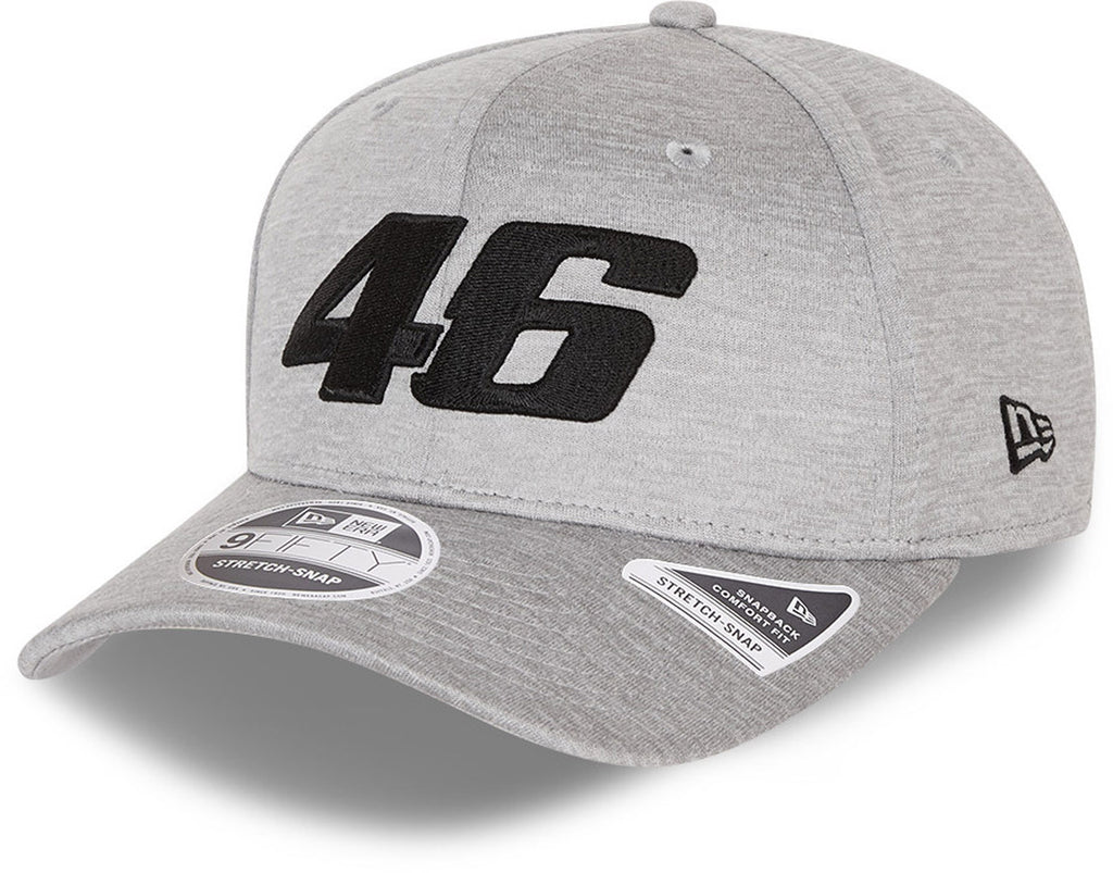 Valentino Rossi Era 950 VR46 Core Shadow Tech Stretch Snap Grey Cap
