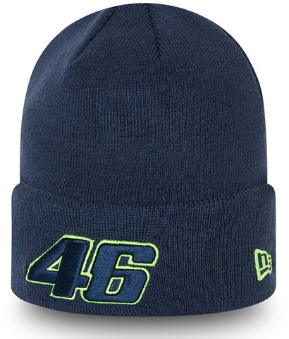 Valentino Rossi New Era Core Knit VR46 Blue Beanie