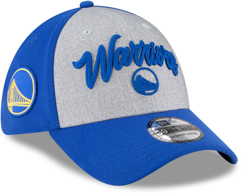 Golden State Warriors New Era 3930 NBA Team Draft Stretch Fit Cap