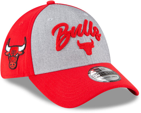 Chicago Bulls New Era 3930 NBA Team Draft Stretch Fit Cap