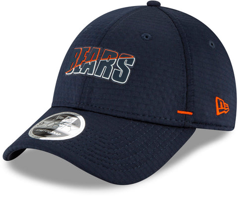 Chicago Bears New Era 940 NFL On Field Training Stretch Snap Cap