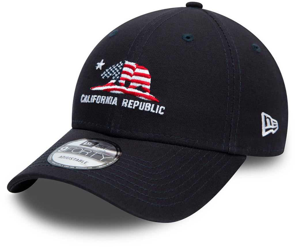 New Era 940 California Republic Navy Baseball Cap
