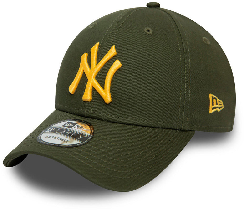 NY Yankees New Era 940 Colour Essential Olive Baseball Cap