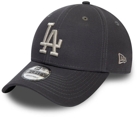 LA Dodgers New Era 940 Colour Essential Graphite Baseball Cap