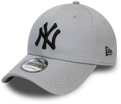 NY Yankees New Era 940 Colour Essential Grey Baseball Cap
