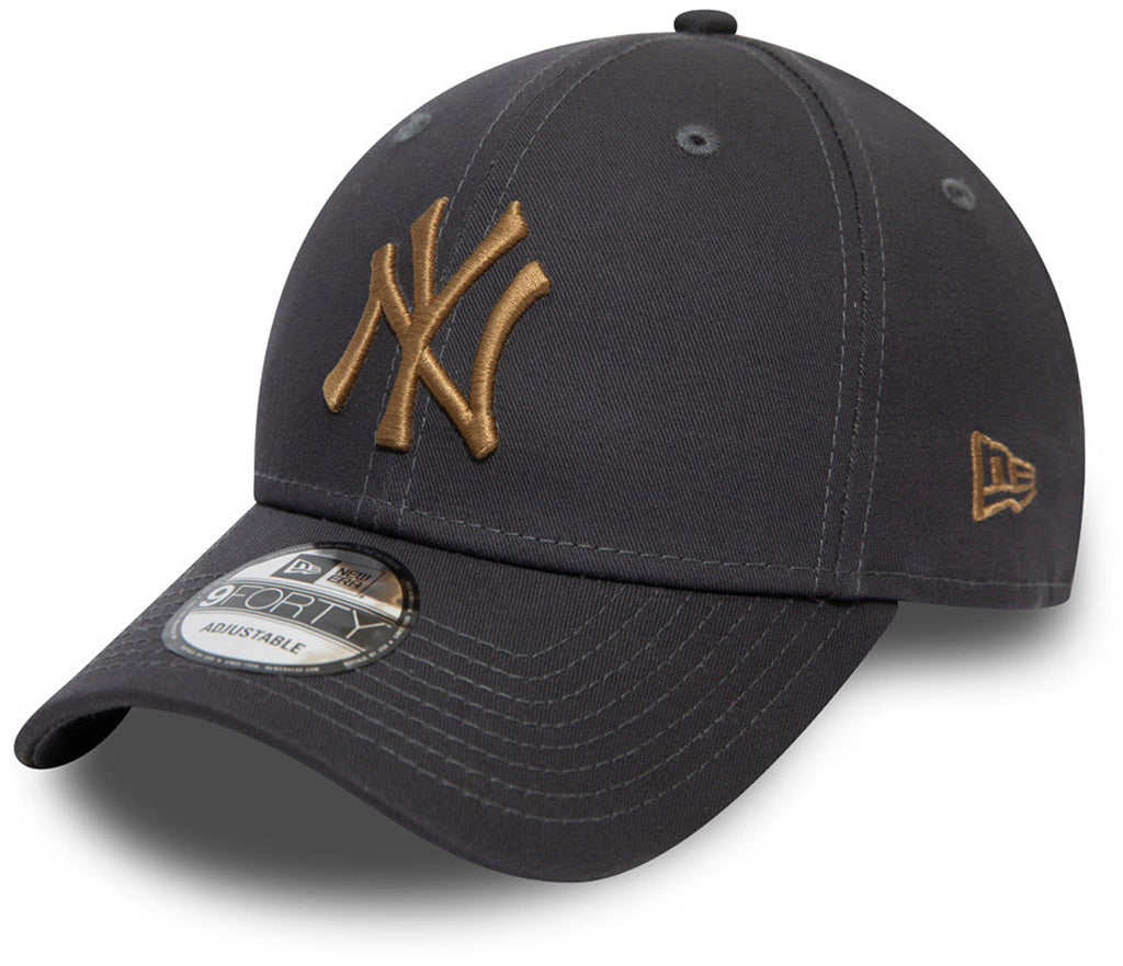 NY Yankees New Era 940 Colour Essential Graphite Baseball Cap
