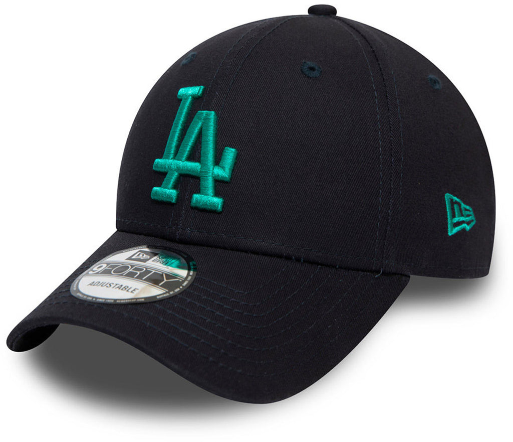 LA Dodgers New Era 940 Colour Essential Navy Baseball Cap