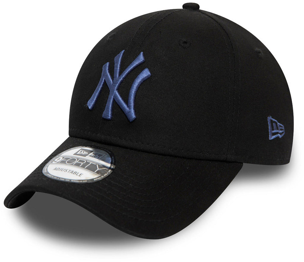 NY Yankees New Era 940 Colour Essential Black Baseball Cap