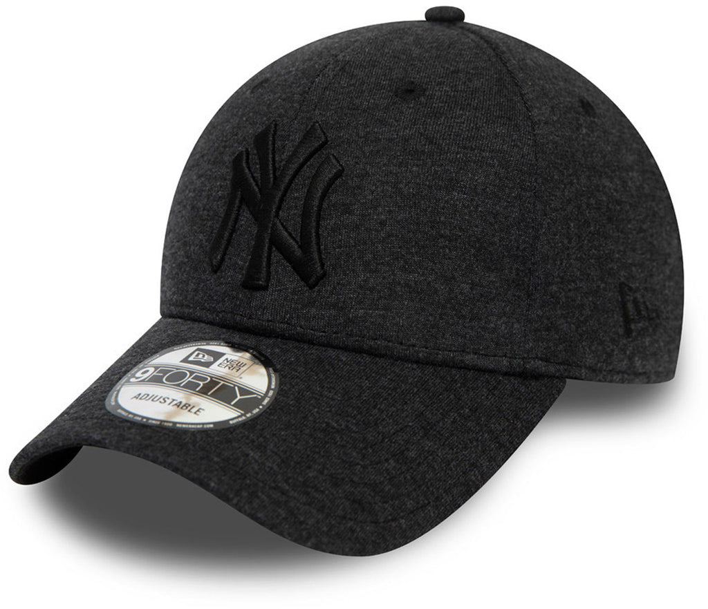 NY Yankees New Era 940 Jersey Essential Black Baseball Cap