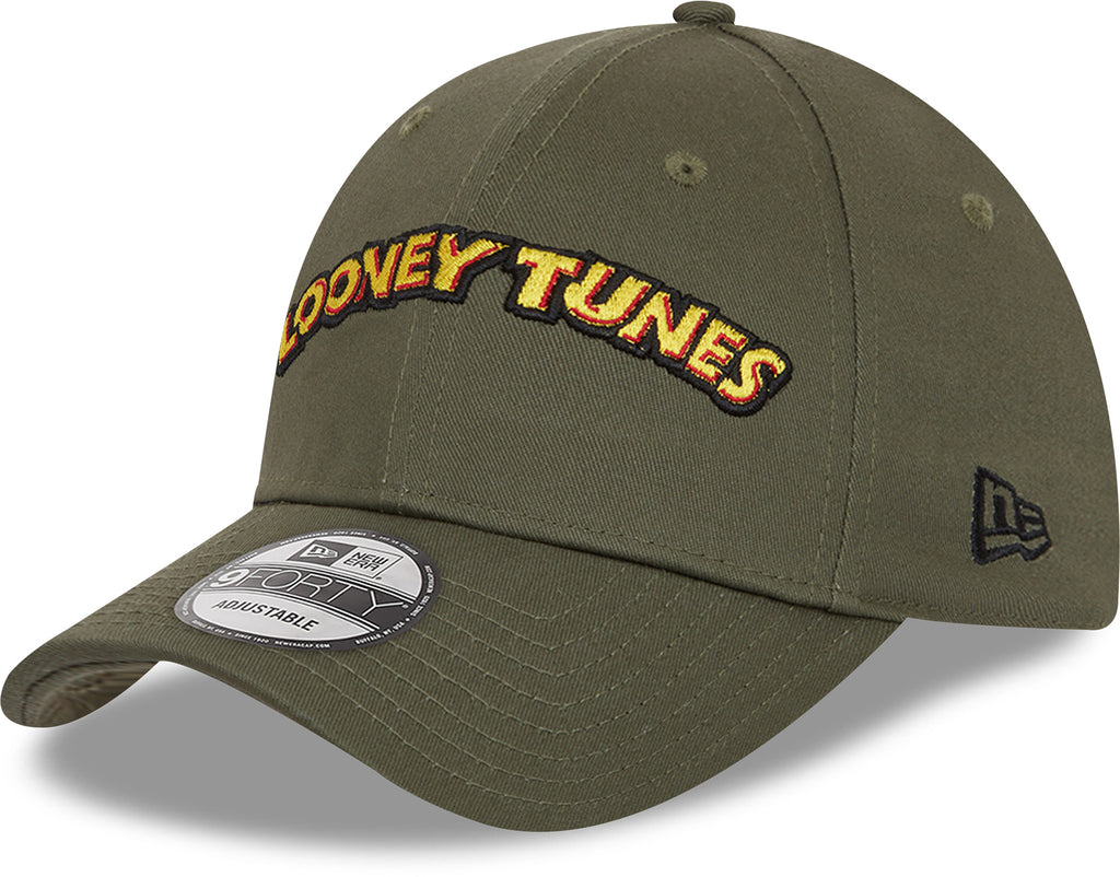 New Era 940 Looney Tunes Olive Green Cap
