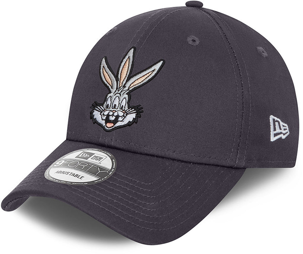 Bugs Bunny New Era 940 Looney Tunes Grey Cap
