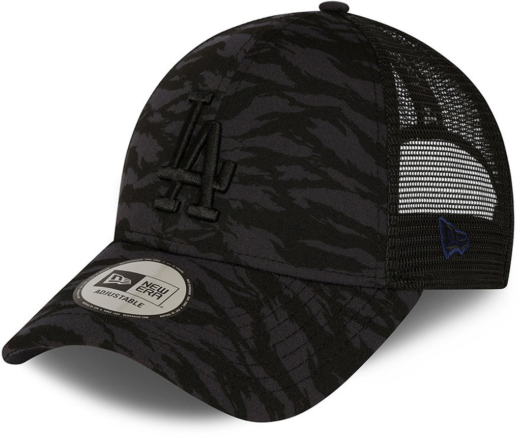 LA Dodgers New Era 940 Tiger Print Navy Baseball Cap