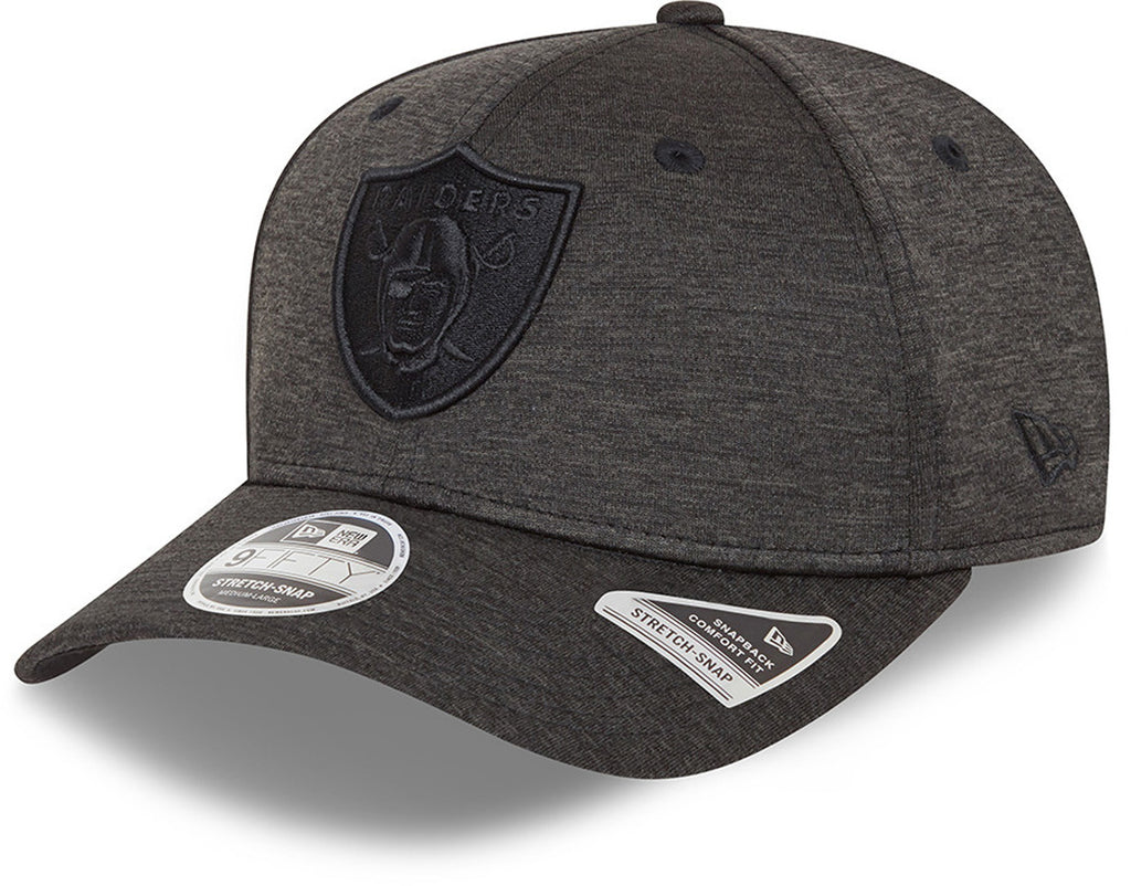 Las Vegas Raiders New Era 9Fifty Team Tonal Stretch Snap Black Cap