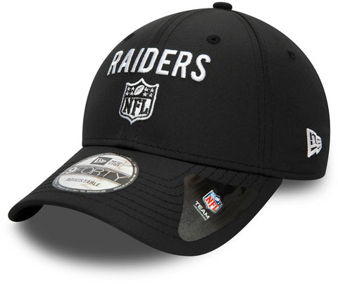 Las Vegas Raiders New Era 9Forty Team Flag Black Cap