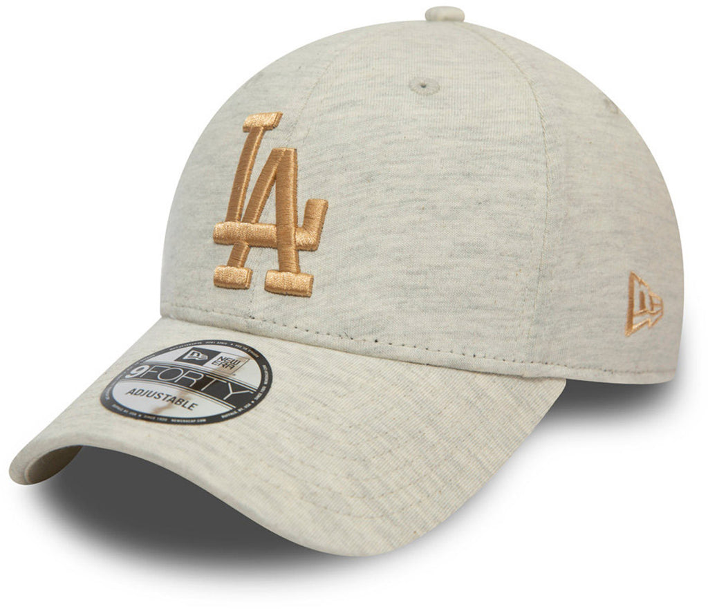 LA Dodgers New Era 940 Jersey Essential Stone Baseball Cap