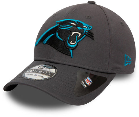 Carolina Panthers New Era 3930 NFL Team Graphite Stretch Fit Cap