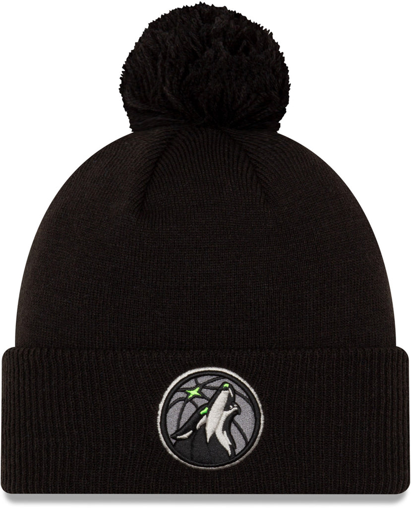 Minnesota Timberwolves New Era NBA 2020 City Alt Knit Bobble Hat